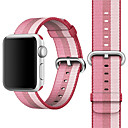 abordables Bracelets Apple Watch-Bracelet de Montre  pour Apple Watch Series 3 / 2 / 1 Apple Boucle Classique Nylon Sangle de Poignet