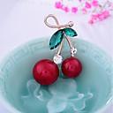 preiswerte Broschen-Damen Broschen - Obst, Süß Brosche Rot Für Weihnachten / Hochzeit
