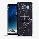 رخيصةأون أغطية أيفون-غطاء من أجل Apple / Samsung Galaxy S8 Plus / S8 / S7 edge نموذج غطاء خلفي جملة / كلمة / حجر كريم ناعم TPU