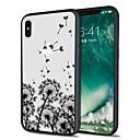 hesapli iPhone Kılıfları-Pouzdro Uyumluluk Apple iPhone X / iPhone 8 Plus Temalı Arka Kapak Manzara / Karahindiba Yumuşak TPU için iPhone X / iPhone 8 Plus / iPhone 8