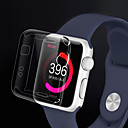 hesapli Bilezikler-Pouzdro Uyumluluk iWatch 38mm Apple Watch Series 3 / 2 / 1 TPU Apple