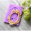 hesapli Bar Gereçleri ve Açıcılar-Bakeware araçları Silika Jel Tatil / Doğum Dünü / Yeni Yıl'ınkiler Candy Yuvarlak Pasta Kalıpları 1pc