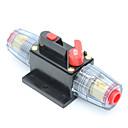Недорогие Круглые LED лампы-dc 12v автомобильный стерео аудио выключатель встроенный предохранитель 40amp rv