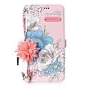 economico Custodie / cover per Galaxy serie S-Custodia Per Samsung Galaxy S8 Plus / S8 Porta-carte di credito / Con supporto / Con chiusura magnetica Fiore decorativo Resistente per