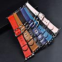 abordables Colliers, Harnais & Laisses pour Chien-Bracelet de Montre  pour Apple Watch Series 3 / 2 / 1 Apple Boucle Moderne Vrai Cuir Sangle de Poignet