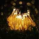 hesapli LED Şerit Işıklar-GMY® 6m Dizili Işıklar 30 LED'ler 6M String Light Sıcak Beyaz Dekorotif <5 V 1set / IP65