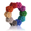 cheap Magnet Toys-216/512/1000 pcs 5mm Magnet Toy Magnetic Balls Building Blocks Super Strong Rare-Earth Magnets Neodymium Magnet Classic & Timeless Stress and Anxiety Relief Office Desk Toys DIY Kid's / Adults