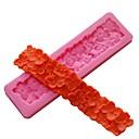hesapli Fırın Araçları ve Gereçleri-Tırnak başlı sınır çiçek silikon kalıp fondan kek dekorasyon sugarcraft reçine fondan kalıp