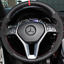 저렴한 컵&유리잔-운전대 커버 진짜 가죽 38cm 제품 Mercedes-Benz E 클래스 / C 클래스 / B200 모든 년도