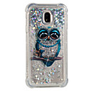 cheap Galaxy J Series Cases / Covers-Case For Samsung Galaxy J7 (2017) / J5 (2017) Shockproof / Flowing Liquid / Pattern Back Cover Owl Soft TPU for J7 (2017) / J7 (2016) / J7
