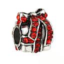 hesapli Boncuklar-DIY Mücevherat 10 adet Koraliki Yapay Elmas alaşım Beyaz Kırmzı Mavi Düzensiz boncuk 0.45 cm DIY Kolyeler Bilezikler
