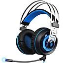 ieftine USB-uri-SADES A7-3 Cordeluțe Cablu Căști Dinamic Plastic Jocuri Cască Cu Microfon Setul cu cască