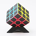 preiswerte Magnetpuppen-Zauberwürfel z-cube Kohlefaser Steinwürfel 3*3*3 Glatte Geschwindigkeits-Würfel Magische Würfel Puzzle-Würfel Lindert ADD, ADHD, Angst,