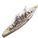 hesapli Fırın Araçları ve Gereçleri-3D Yapbozlar / Metal Yapbozlar Askeri / Battleship Metalik / Paslanmaz Çelik 1 pcs Bot Çocuklar için / Yetişkin Hediye