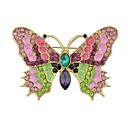 cheap Women's Watches-Women's Brooches - Butterfly Ladies, Simple, Basic Brooch Jewelry Gold For Daily / New Year