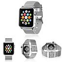 tanie Etui do iPhone-Watch Band na Apple Watch Series 3 / 2 / 1 Apple Współczesna klamra Stal Opaska na nadgarstek