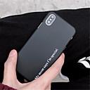 저렴한 아이폰 케이스-케이스 제품 Apple iPhone X / iPhone 7 Plus 패턴 뒷면 커버 단어 / 문구 하드 PC 용 iPhone X / iPhone 8 Plus / iPhone 8