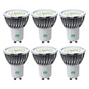 abordables Focos LED-YWXLIGHT® 6pcs 7 W 600-700 lm GU10 Focos LED 48 Cuentas LED SMD 2835 Blanco Cálido Blanco Fresco Blanco Natural