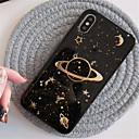 baratos Cool & Fashion Cases para iPhone-Capinha Para Apple iPhone X / iPhone 7 Plus Estampada Capa traseira Glitter Brilhante Macia TPU para iPhone X / iPhone 8 Plus / iPhone 8