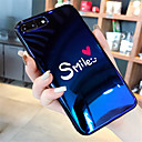 hesapli iPhone Kılıfları-Pouzdro Uyumluluk Apple iPhone X / iPhone 7 Plus Temalı Arka Kapak Kelime / Cümle Yumuşak Silikon için iPhone X / iPhone 8 Plus / iPhone 8