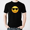 hesapli Ayakkabı Bağcıkları-led t-shirtler kızdırma saf pamuk led rahat 2 × aa