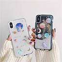 cheap iPhone Cases-Case For Apple iPhone X / iPhone 7 Flowing Liquid / Glitter Shine Back Cover Glitter Shine Soft TPU for iPhone X / iPhone 7 Plus / iPhone 7