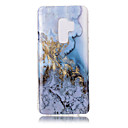 economico Custodie / cover per Galaxy serie S-Custodia Per Samsung Galaxy S9 Plus / S9 IMD / Fantasia / disegno Per retro Effetto marmo Morbido TPU per S9 / S9 Plus / S8 Plus