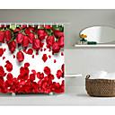 cheap Bathroom Gadgets-Shower Curtains & Hooks Modern Polyester Novelty Machine Made Waterproof