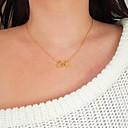 preiswerte Halsketten-Damen Anhängerketten - Herz Zierlich, Klassisch, Modisch Gold, Silber Modische Halsketten Schmuck Für Geschenk, Alltag