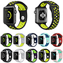 voordelige Apple Watch-hoesjes-Horlogeband voor Apple Watch Series 4/3/2/1 Apple Sportband Silicone Polsband