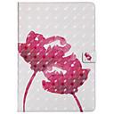 رخيصةأون أغطية أيباد-غطاء من أجل Apple iPad Air / iPad 4/3/2 / iPad Mini 3/2/1 حامل البطاقات / مع حامل / قلب غطاء كامل للجسم زهور قاسي جلد PU / TPU / iPad Pro 10.5 / iPad (2017)