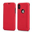 preiswerte Xbox One Zubehör-Hülle Für Apple iPhone X / iPhone 8 / iPhone XS Kreditkartenfächer / Stoßresistent / Flipbare Hülle Ganzkörper-Gehäuse Solide Hart PU-Leder für iPhone XS / iPhone XR / iPhone XS Max