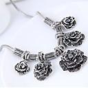 preiswerte Halsketten-Damen Statement Ketten - Blume Retro, Europäisch, Modisch Silber Modische Halsketten Schmuck Für Party