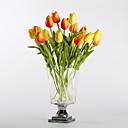 رخيصةأون أزهار اصطناعية-زهور اصطناعية 10 فرع الحديث الطراز الأوروبي أزهار التولب أزهار الطاولة