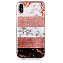 cheap iPhone Cases-Case For Apple iPhone X / iPhone 8 Plus IMD / Pattern / Glitter Shine Back Cover Glitter Shine / Marble Soft TPU for iPhone X / iPhone 8 Plus / iPhone 8