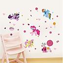 저렴한 수족관 장식-동물 벽 스티커 동물의 벽 스티커 데코레이티브 월 스티커, 비닐 홈 장식 벽 데칼 벽 장식 1 개