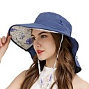 ieftine Cagule și măști pentru față-VEPEAL Καπέλο πεζοπορίας Căciulă Alergare Pălării Ușor Rezistent la Vânt Uscare Rapidă Primăvară Vară Albastru Închis Pentru femei Pescuit Drumeție Voiaj Mată / Rezistent la UV