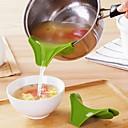cheap Cooking Tools & Utensils-Plastics Funnel Creative Kitchen Gadget Novelty Kitchen Utensils Tools Cooking Utensils 1pc