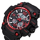 cheap Dog Clothing & Accessories-SHIFENMEI Men's Sport Watch Japanese Digital 30 m Calendar / date / day Casual Watch Large Dial Plastic Band Analog-Digital Luxury Fashion Black - Red Green Light Blue / Maxell2025