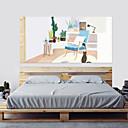halpa Sisustustarrat-Koriste-seinätarrat - 3D-seinätarrat Maisema 3D Olohuone Makuuhuone Kylpyhuone Keittiö Ruokailuhuone Työhuone / toimisto