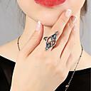 저렴한 귀걸이-진술서 반지 - 합금 베이직, 패션 7 실버 제품 일상 데이트