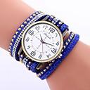 Недорогие Колье и ожерелья-Жен. Кварцевый Модные часы Китайский Крупный циферблат PU Группа На каждый день Сова Черный Белый Синий Красный Коричневый Зеленый