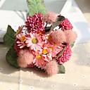 preiswerte Künstliche Blumen-Künstliche Blumen 11 Ast Rustikal Hochzeit Hortensie Pflanzen Chrysanthemum Tisch-Blumen
