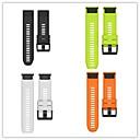 hesapli USB Kabloları-Watch Band için Fenix 3 HR / Fenix 3 Garmin Spor Bantları Silikon Bilek Askısı