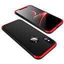 رخيصةأون أغطية أيفون-غطاء من أجل Apple iPhone X / iPhone 8 Plus / iPhone 8 ضد الصدمات / مثلج غطاء خلفي لون سادة قاسي الكمبيوتر الشخصي