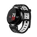 levne Chytré hodinky-Inteligentní hodinky pro iOS / Android Monitor pulsu / Spálené kalorie / Cvičební tabulka / Záznamník zpráv / Kontrola kamery Krokoměr / Záznamník hovorů / Měřič spánku / sedavé Připomenutí / Budík
