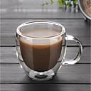 ieftine Căni-Drinkware Sticlă de bor înalt Căni de Cafea cadou prietena cadou iubit 1pcs