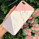 hesapli Magnet Oyuncaklar-Pouzdro Uyumluluk Apple iPhone X / iPhone 8 Buzlu / Temalı Arka Kapak Mermer Sert PC için iPhone X / iPhone 8 Plus / iPhone 8