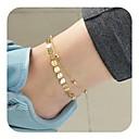 ieftine Brățară Gleznă-Pentru femei Brățară Gleznă picioare bijuterii femei Vintage Brățară Gleznă Bijuterii Auriu / Argintiu Pentru Zilnic Concediu
