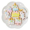 hesapli Fırın Araçları ve Gereçleri-Bakeware araçları Plastik Çok-fonksiyonlu Pişirme Kaplar İçin Pasta Kalıpları 8pcs